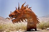 Snarling Desert Serpent — Stock Photo