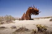 змея в песке — Стоковое фото