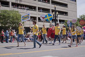 Salt Lake City, Utah - June 3: Ikea employees marching in the Pr — Stock Photo