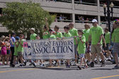 Salt Lake City, Utah - June 3: Utah Gay Fathers Association memb — Stock Photo