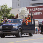 Salt Lake City, Utah - June 3: Pride Parade participants marchin — Stock Photo #11117730