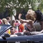 Salt Lake City, Utah - June 3: Pride Parade participants marchin — Stock Photo #11117749