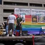 Salt Lake City, Utah - June 3: Pride Parade participants marchin — Stock Photo #11117753