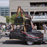 Salt Lake City, Utah - June 3: Pride Parade participants marchin — Stock Photo #11117755