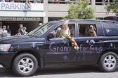 Salt Lake City, Utah - June 3: Proud grandmothers - Grannies for — Stock Photo