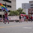 Salt Lake City, Utah - June 3: Pride Parade participants marchin — Stock Photo #11350046