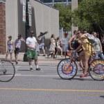 Salt Lake City, Utah - June 3: Pride Parade participants marchin — Stock Photo #11350376
