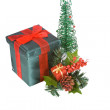 Isolated Christmas Background - Stock Photo