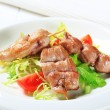 Stock Photo: Pork tenderloin skewers
