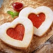 Heart shaped cookies — Stock Photo #11435969