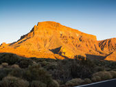 Mountains in Teide National Park, Tenerife — Stock Photo