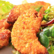 Crispy chicken tenders — Stock Photo #12305104