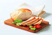 Roast turkey breast — Stock Photo