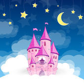 Vector Princess Castle — Stock Vector