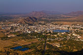 Pushkar Holy City, Rajasthan India — Stock Photo