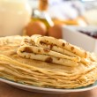 Fresh Homemade Crepes — Stock Photo
