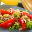 Tuna Tomato Olive Salad — Stock Photo #11913785