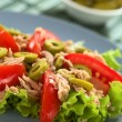 Tuna Tomato and Olive Salad — Stock Photo #11913801