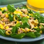 Tuna Sweetcorn and Olive Salad — Stock Photo #11948704