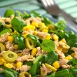 Tuna Sweetcorn and Olive Salad — Stock Photo #11948718