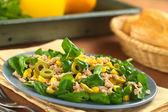 Tuna Sweetcorn and Olive Salad — Stock Photo