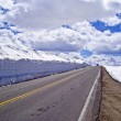Beartooth Highway in Spring — Stock Photo