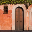 Mexican house exterior — Stock Photo