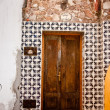 Mexican tiled entrance - Stock Photo