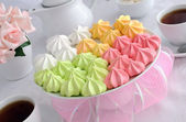 Meringue cookies — Stock Photo