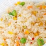 Постер, плакат: Rice with peas