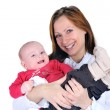 Woman with baby — Stock Photo #11524963