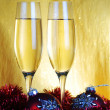 Champagne glasses — Stock Photo #11525062