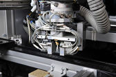 Parts modern machine — Stock Photo