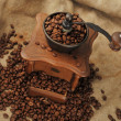 Stock Photo: Manual coffee grinder
