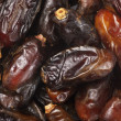 Stock Photo: Dried dates close-up