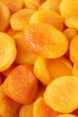 Dried apricots close-up — Stock Photo