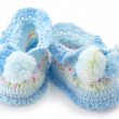 Baby's bootees — Stock Photo #11905829