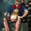 Uncle Sam — Stock Photo #11573358