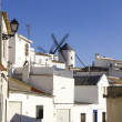 Typical view of a Castilian town - Stock Photo