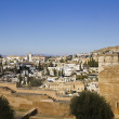 Granada from Alhambra. - Stock Photo