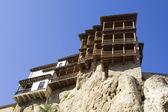 Hanging houses, Cuenca, Castile-La Mancha, Spain — Stock Photo