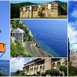 Monasteries on Mount Athos, Chalkidiki, Greece — Stock Photo #10743272