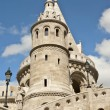 Fishermen's bastion in Budapest, Hungary - Stock Photo