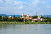 Berömda och romantiska byn st. andreas, donau-dalen, budapest, ungern — Stockfoto