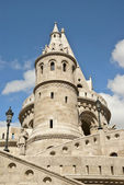 Fishermen's bastion in Budapest, Hungary — Stockfoto