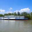 Riverboat on the Dunabious river, Hungary — Stock Photo