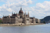 Parlamento ungherese, budapest — Foto Stock