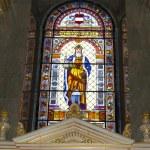 Saint Stephen Basilica in Budapest - interior — Stock Photo
