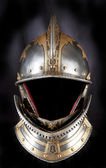 Iron helmet — Stock Photo