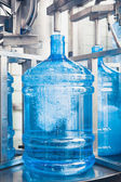 Drink water production line — Stock Photo